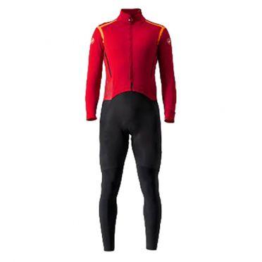 Castelli Sanremo RoS thermosuit red/black men