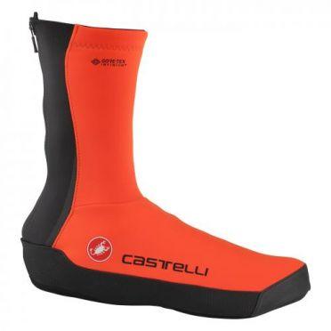 Castelli Intenso UL shoecovers orange heren