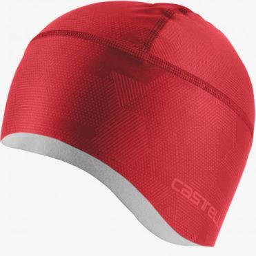 Castelli Pro thermal skully red