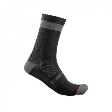 Castelli Alpha 18 cycling socks black men