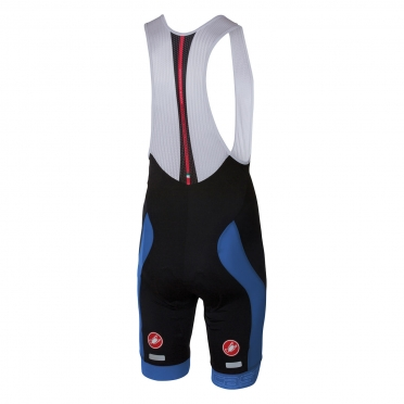 Castelli Velocissimo bibshort black/blue men 16003-059