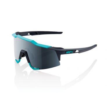 100% Speedcraft glasses grey/green with mirror lens grey