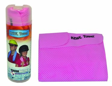 TechNiche KewlTowel cooling towel pink