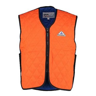 TechNiche HyperKewl fire resistant evaporative cooling vest orange