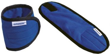 TechNiche HyperKewl cooling wrist wraps (set) blue