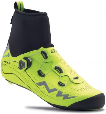 Northwave Flash Arctic GTX race shoe fluo yellow men