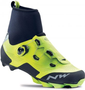 Northwave Raptor GTX MTB shoe fluo/black men