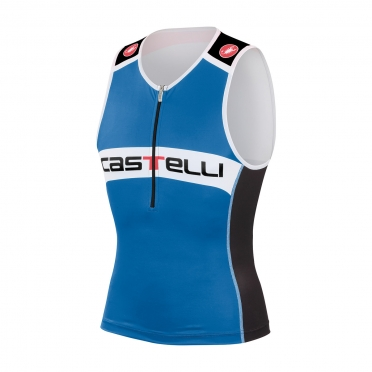Castelli Core tri top black/blue men 14108-059