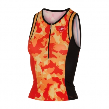 Castelli Core W tri singlet orange women 14120-037