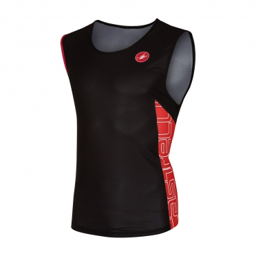 Castelli T.O. alii run top men black/red 16067-231