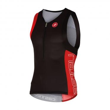Castelli Free tri top men black/red 16069-231
