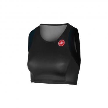 Castelli Free W tri short top black women 16077-010