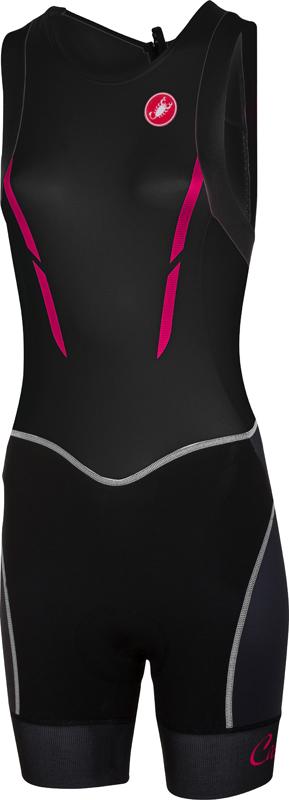 Castelli Free W tri itu suit sleeveless black women 16079-010
