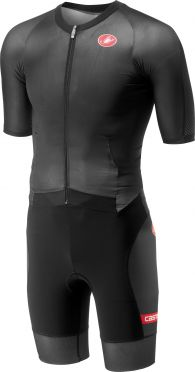 Castelli All out speed trisuit short sleeve black men