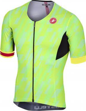 Castelli Free speed race jersey tri top pro green men
