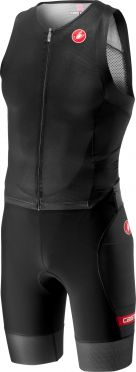 Castelli Free sanremo trisuit sleeveless black men