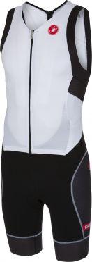 Castelli Free sanremo trisuit sleeveless white/black men