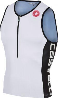 Castelli Core 2 tri top white/black men