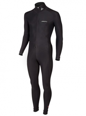 Craft Thermo marathon ice skating suit black unisex