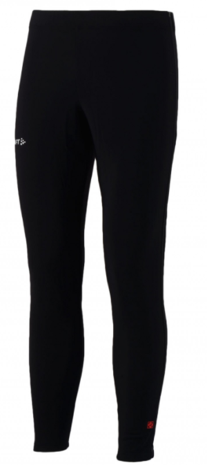Craft Thermo skate tight with zip black unisex