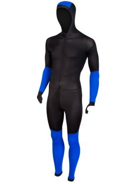 Craft Skate speed suit colorblock black/blue unisex