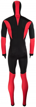 Craft Skate speed suit colorblock black/red unisex
