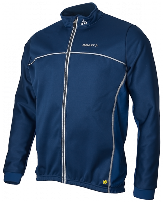Craft Thermo skate jacket windstopper flatlock navy unisex