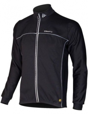 Craft Thermo skate jacket windstopper flatlock black unisex