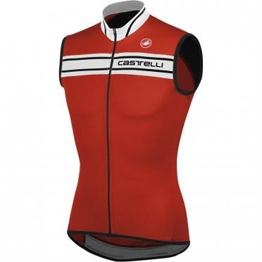 Castelli Prologo 3 Sleeveless red 13011