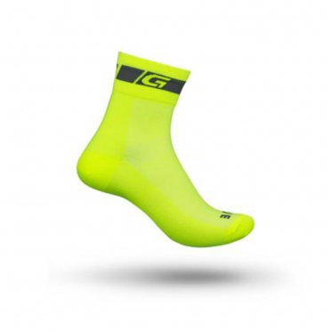 GripGrab Hi-Vis Regular Cut cycling socks