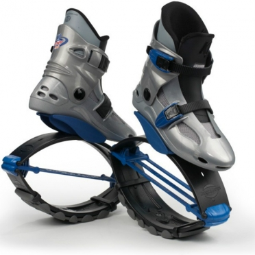 Kangoo Jumps Powershoe silver blue