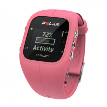 Polar A300 sports watch pink