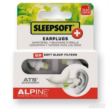 Alpine SleepSoft+ earplugs