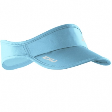 2XU Run Visor 2014 UA1150f Light blue