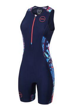 Zone3 Activate plus sleeveless trisuit Latin summer women
