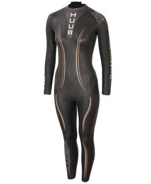 Huub Aegis II thermal 3:5 wetsuit black women