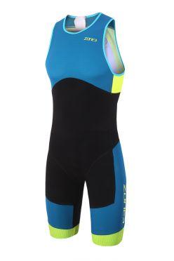 Zone3 Aeroforce sub 220 sleeveless trisuit blue/black men