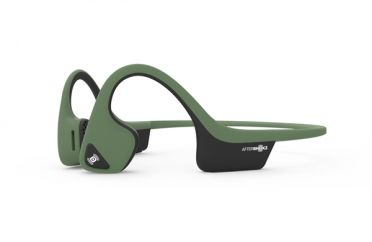 Aftershokz Trekz air forest green sport headphone