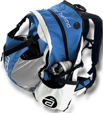 Cádomotus Airflow racing bag blue/white