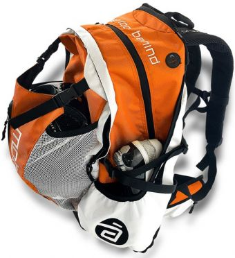 Cádomotus Airflow racing bag Orange/white