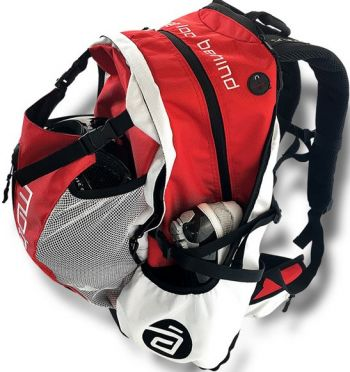 Cádomotus Airflow racing bag Red/white