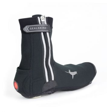 Sealskinz All weather LED cycling overshoe black