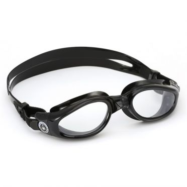 Aqua Sphere Kaiman clear lens goggles black