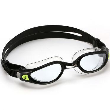 Aqua Sphere Kaiman EXO clear lens goggles black/silver