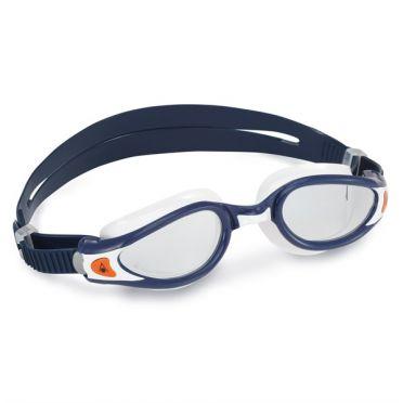 Aqua Sphere Kaiman EXO clear lens goggles darkblue/white