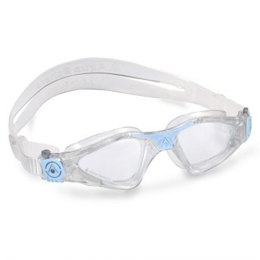Aqua Sphere Kayenne Small transparent lens swimming goggles white/blue