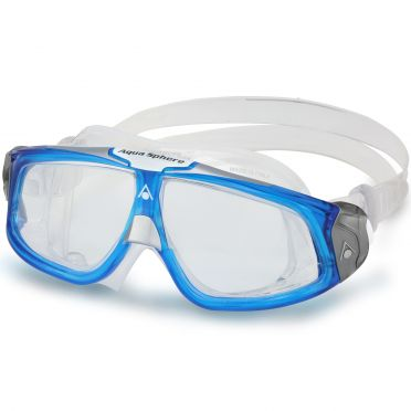 Aqua Sphere Seal 2.0 Clear Lens goggles Light Blue/White