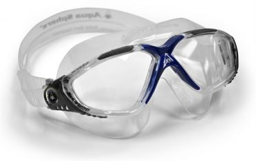 Aqua Sphere Vista clear lens goggles grey