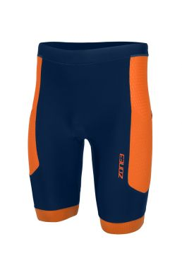 Zone3 Aquaflo plus tri shorts blue/orange men