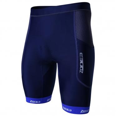 Zone3 Aquaflo plus tri short blue/grey men